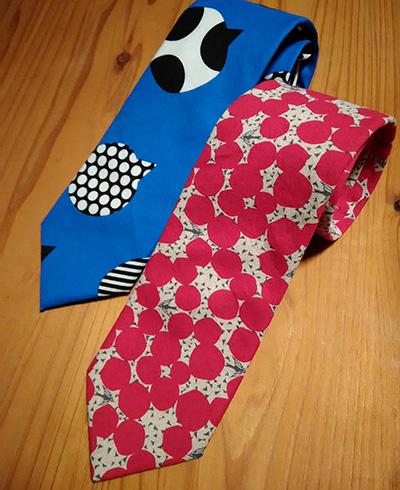 手作りネクタイあとりえ千尋の海