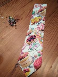 手作りネクタイ